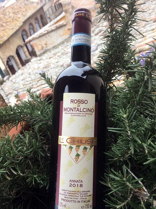 Rosso di Montalcino DOC 2018 Le Chiuse