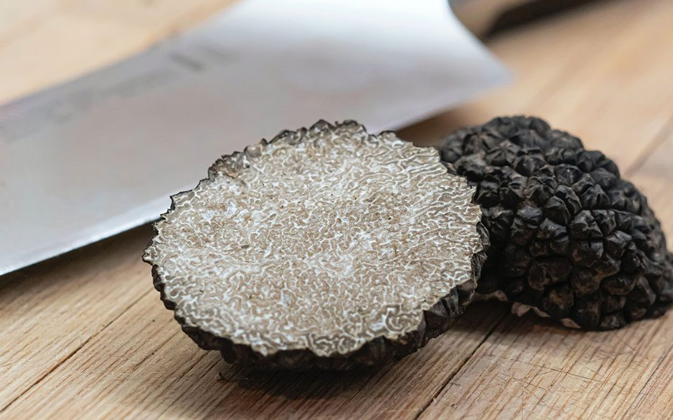 Berni handmade tagliatelle with black fine truffle