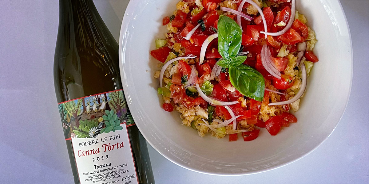 Tuscan Panzanella recipe